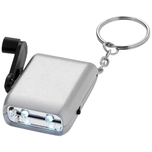 Lampe dynamo porte-clés carina