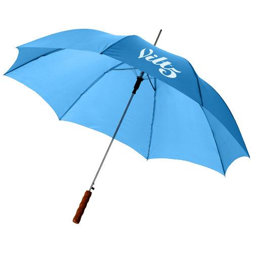 """Parapluie 23"""" à ouverture automatique avec poignée en bois lisa - 109017"""