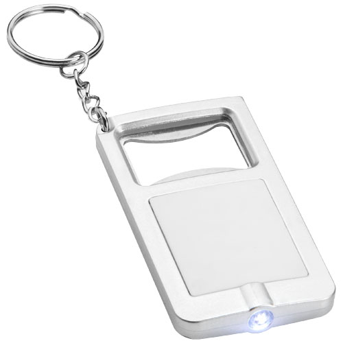 Porte-clés ouvre-bouteille avec lumière orcus