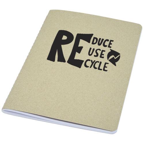 Carnet gianna en carton recyclé