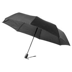 """Parapluie double couche 3 sections à ouverture/fermeture automatique 21"""""""