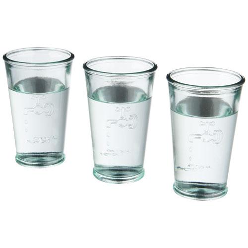 Trois verres à eau