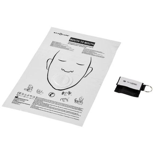 Protection pour bouche-à-bouche avec sa pochette polyester henrik