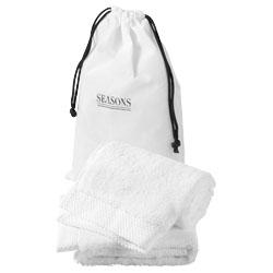 Set de deux serviettes de bain twillston