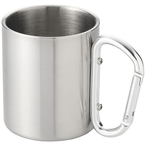 Mug isotherme avec mousqueton alpes