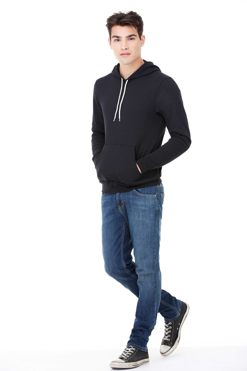 Unisex fleece hoodie