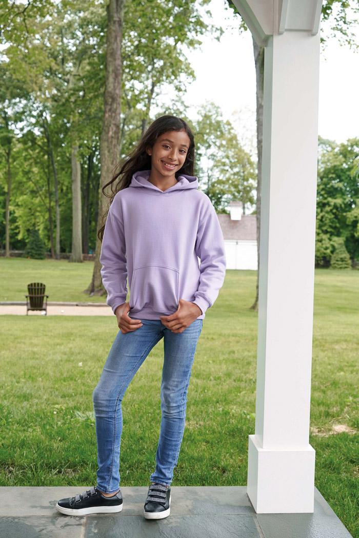 Sweat-shirt enfant capuche heavy blend™ - GI18500B