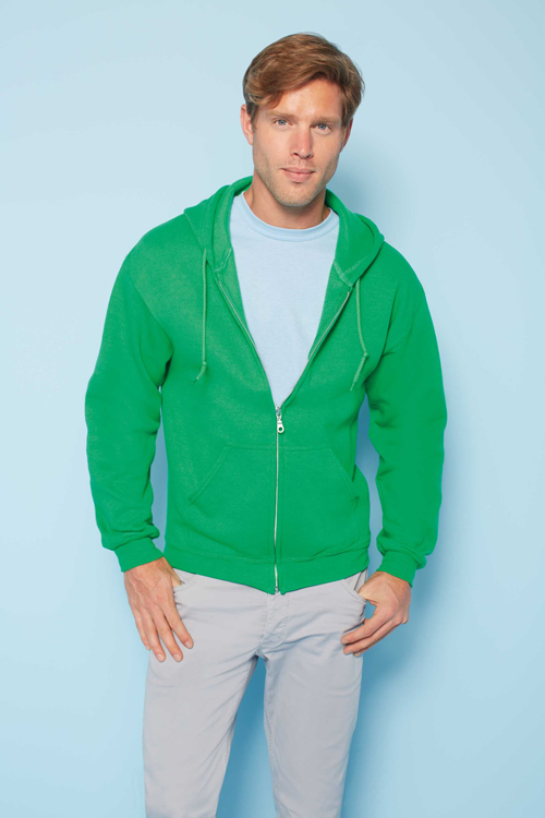 Heavy blend full zip hooded