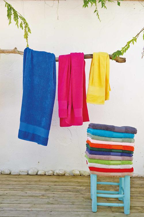 Bath towel > serviette de bain
