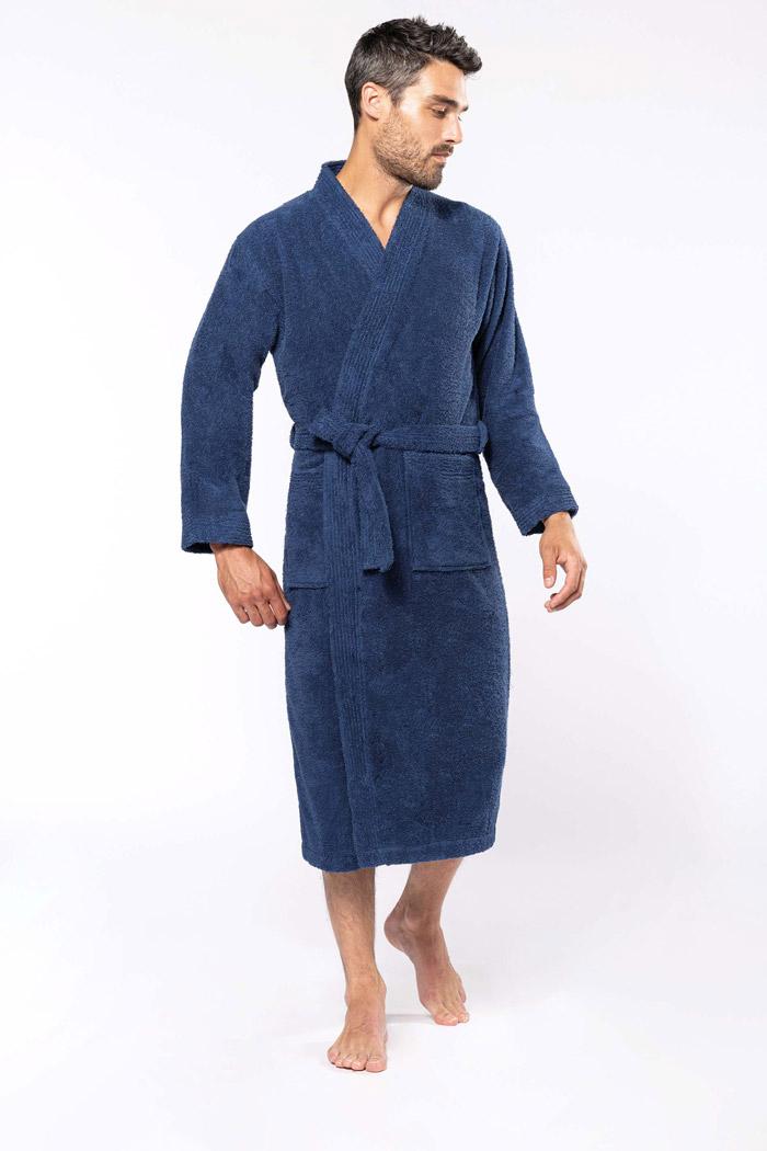 Peignoir col kimono - K115