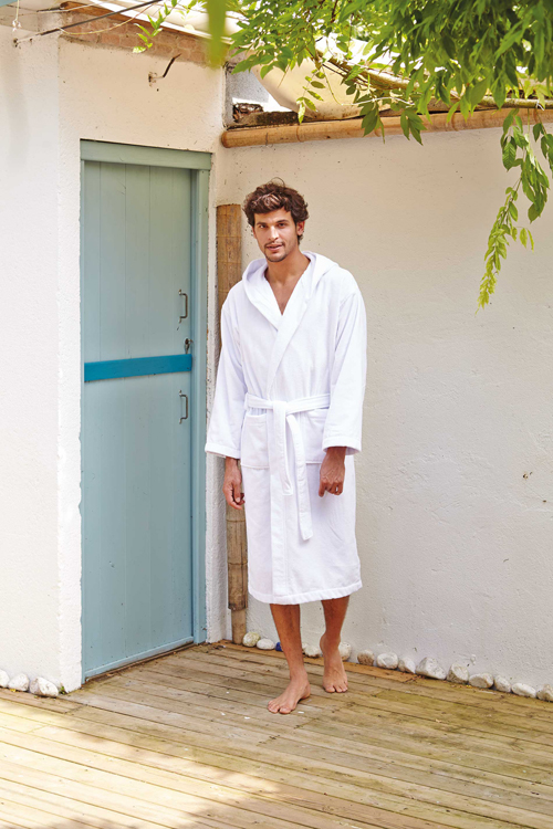 Peignoir de bain velours - K119