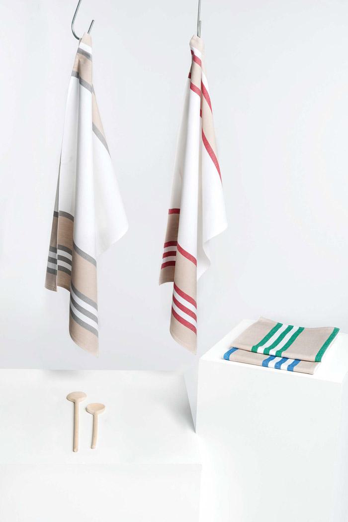 Essuie-vaisselle à rayures - K130