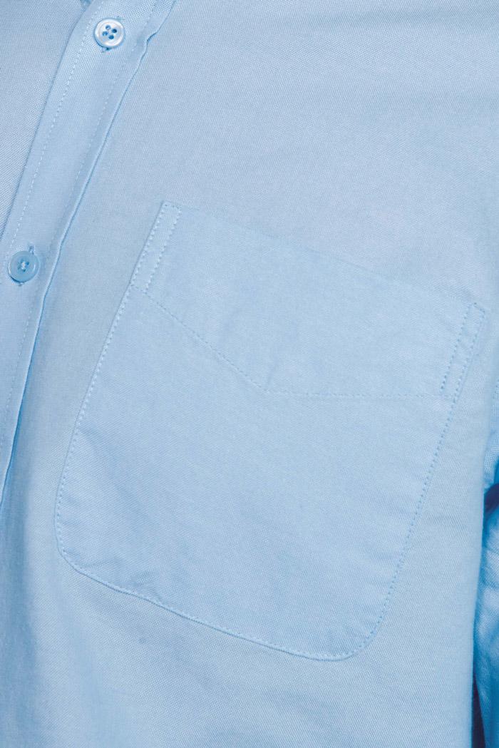 Chemise oxford lavée manches longues - K516