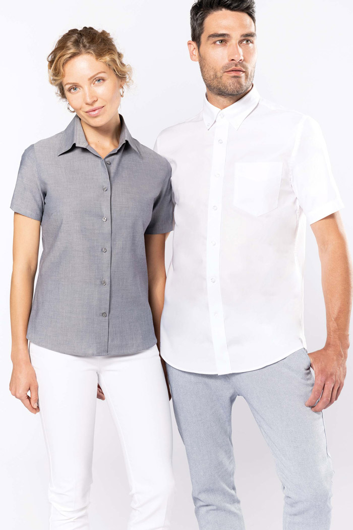 Chemise oxford manches courtes - K535