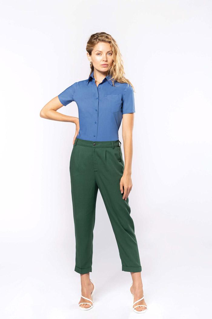 Judth > chemise manches courtes femme - K548