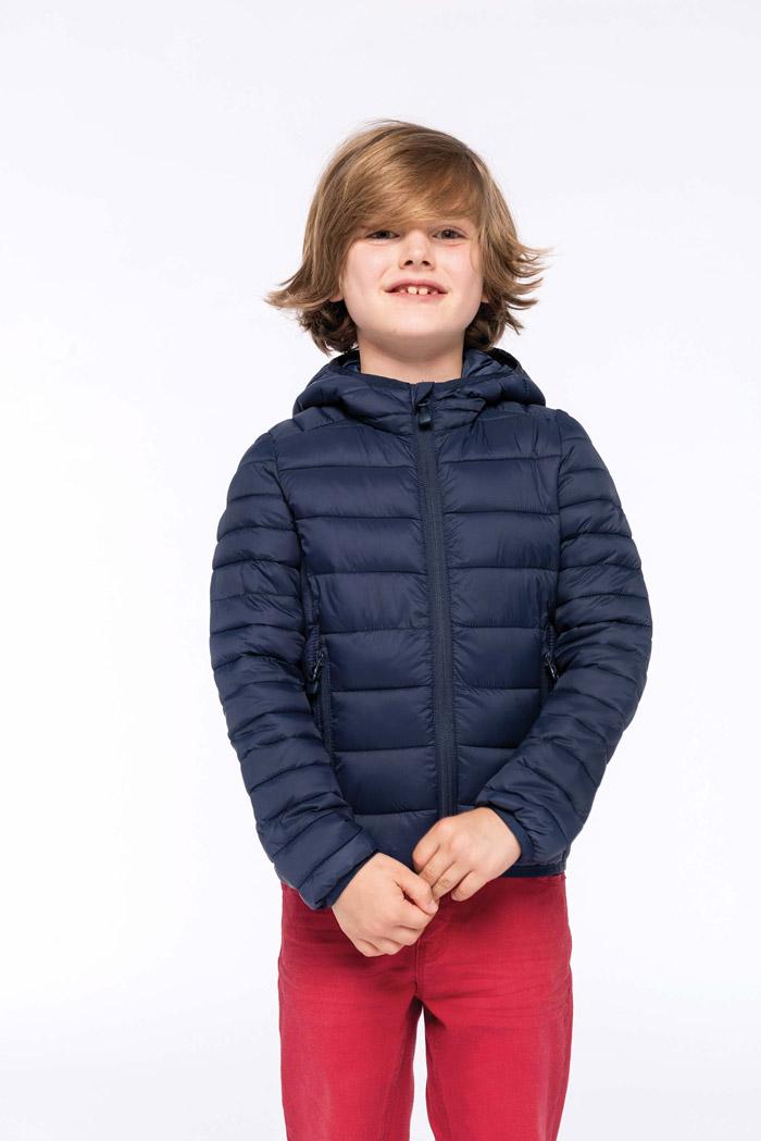Doudoune légère capuche enfant - K6112