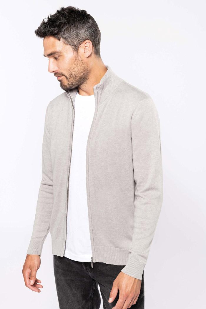 Cardigan zippé homme - K961