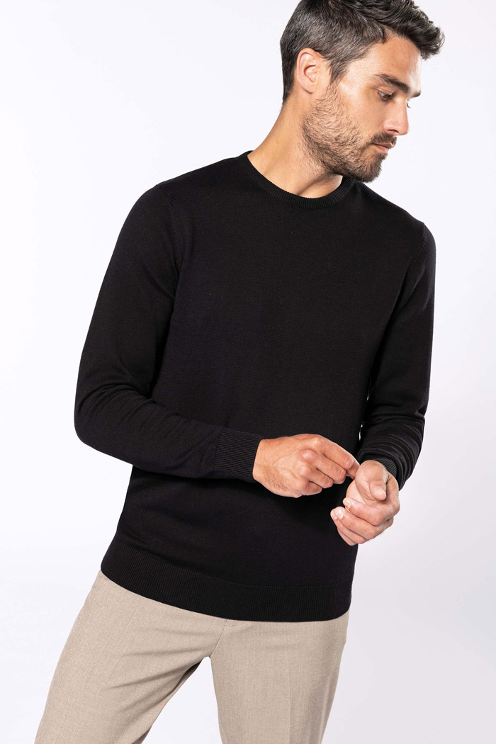 Pull col rond - K967
