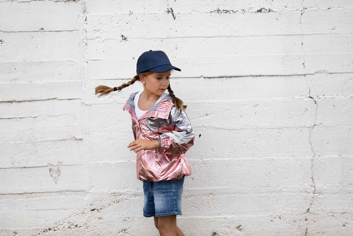 First kids - casquette enfant 5 panneaux - KP041