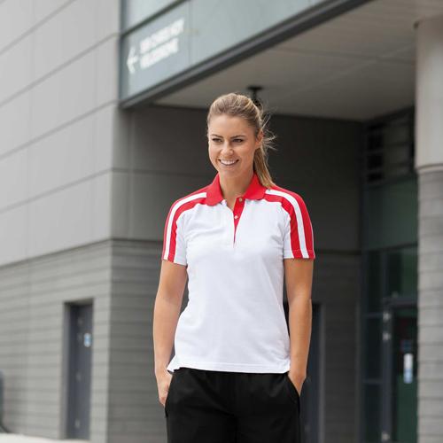 Ladies racing polo