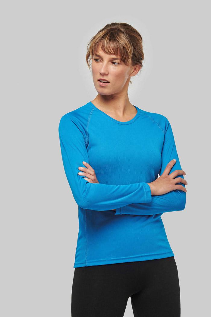 T-shirt sport manches longues femme - PA444