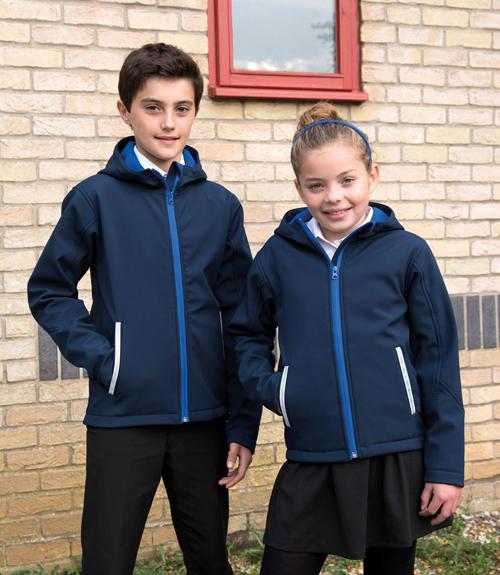 Junior tx performance softshell  jacket
