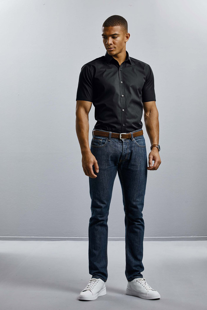 Chemise homme manches courtes ultimate stretch - RU961M