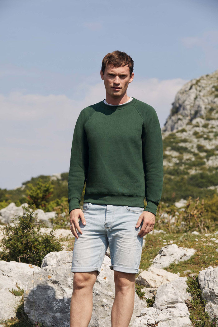 Sweat-shirt manches raglan (62-216-0) - SC4