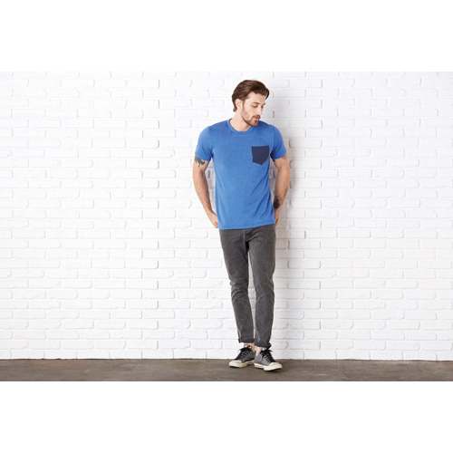 Jersey short sleeve pocket tee