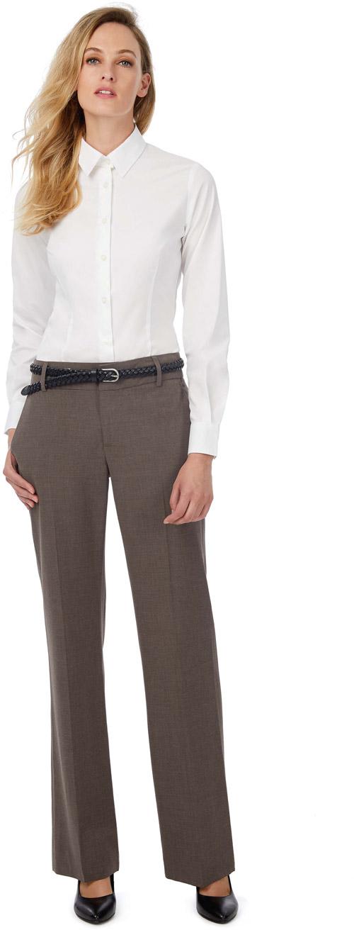 Chemise stretch femme manches longues black tie