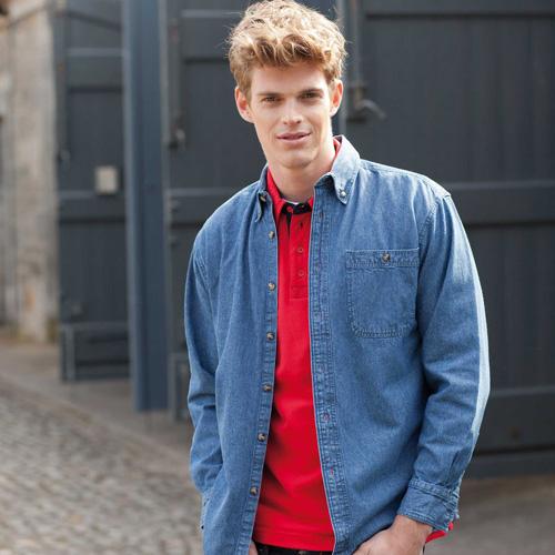 Denim shirt lsl - chemise en jean manches longues