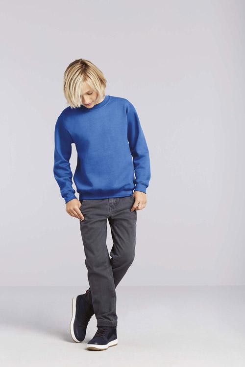 Sweat-shirt enfant col rond heavy blend™
