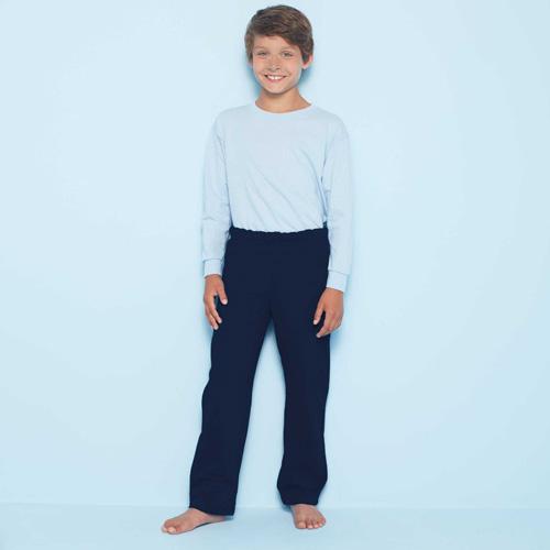 Kids open bottom sweatpants