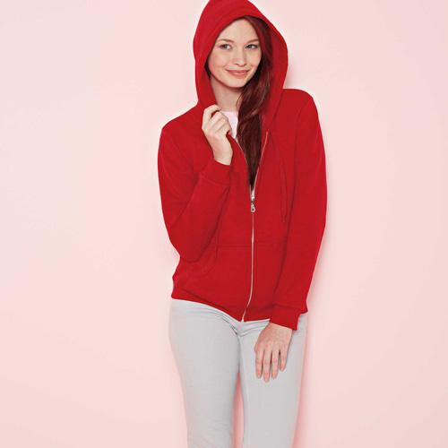 Heavy blend ladies' full zip hooded