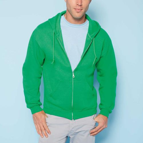 Heavy blend full zip hooded