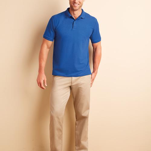 Polo double pique sport dryblend™ manches courtes homme