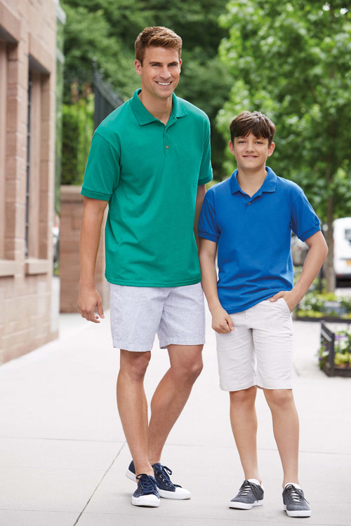 Polo jersey dryblend enfant