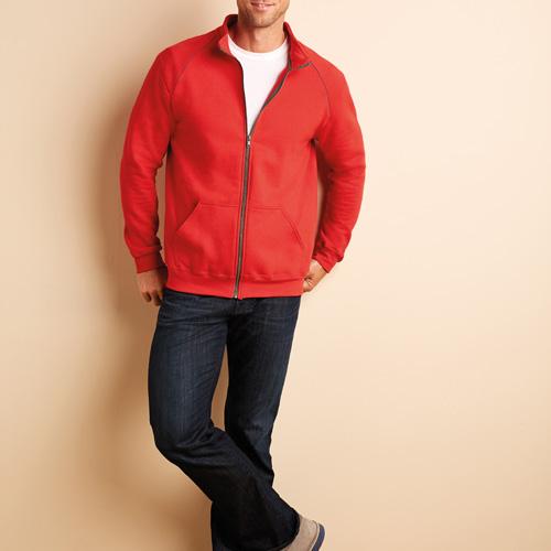 Premium cotton full zip jacket