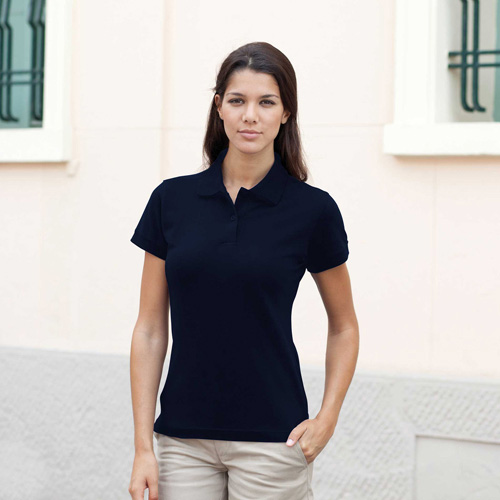Ladies stretch piquÉ polo