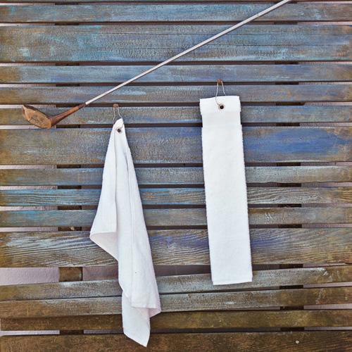 Golf towel > serviette de golf