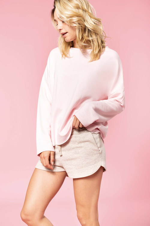 Sweat-shirt femme ''loose''