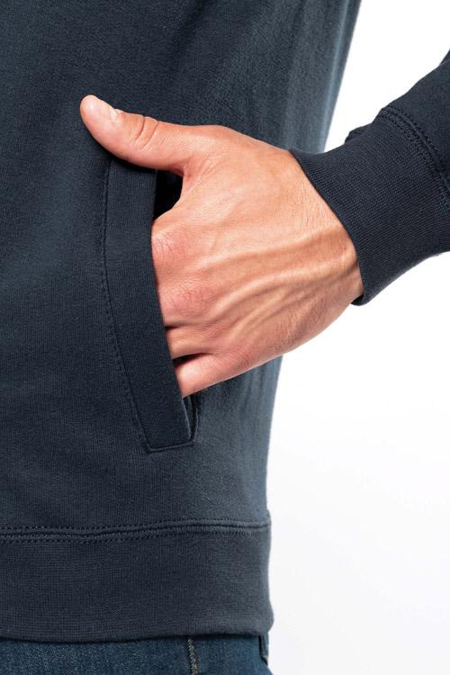 Veste molleton zippée homme