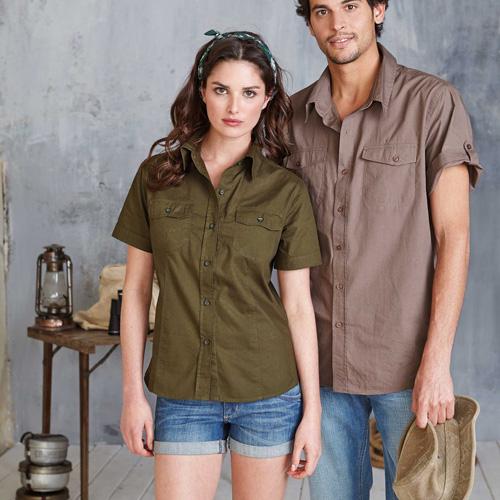 Tropical men > chemise popeline manches courtes