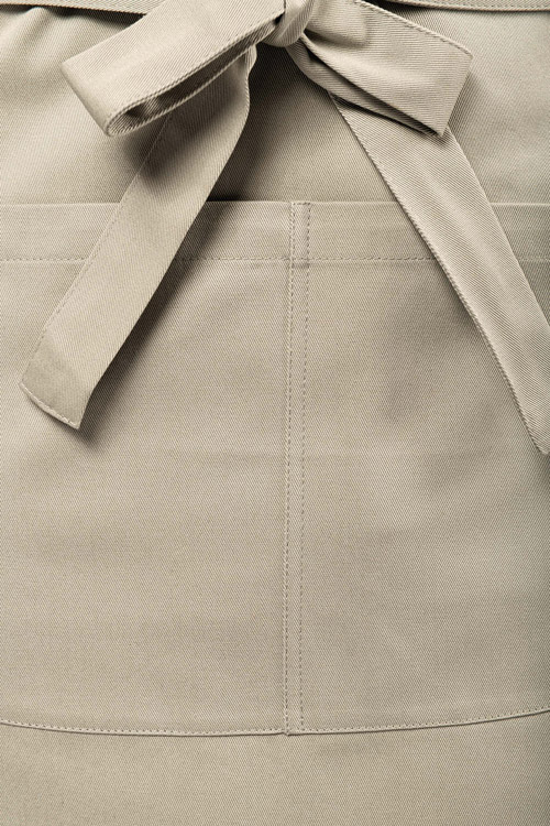 Tablier avec poche en coton bio