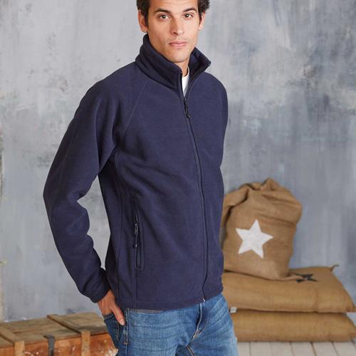 Marco > veste micropolaire zippée lourde