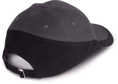 Racing - casquette bicolore 6 panneaux