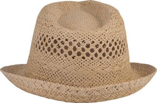 Chapeau de paille style panama