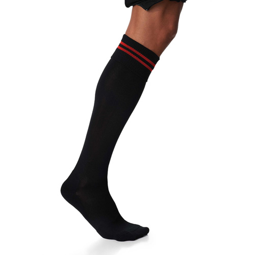 Striped sports socks > chaussettes de sport rayées