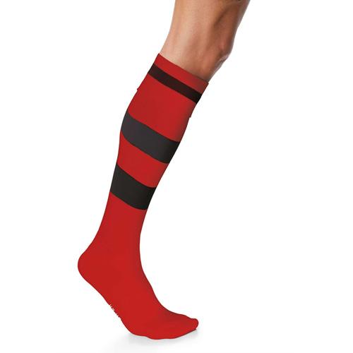 Chaussettes de sport cerclées