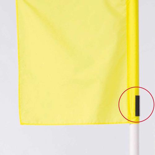 Clip pour drapeau de coin